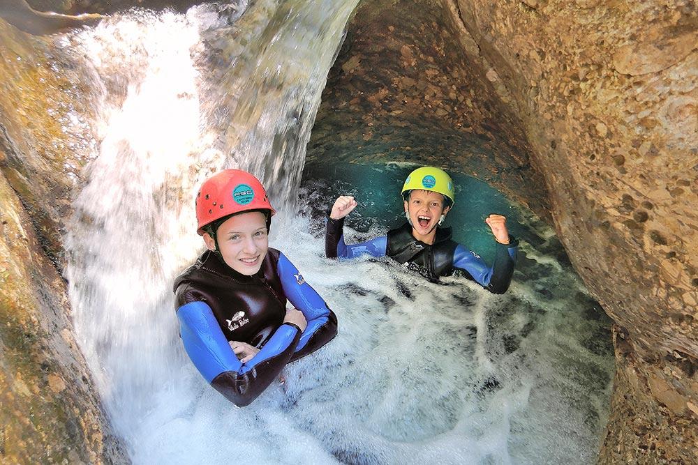 Canyoning Touren für Einsteiger und Familien - Allgau - Tirol