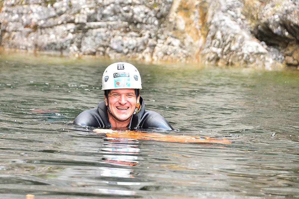 Canyoning Guide im Allgäu und in Tirol