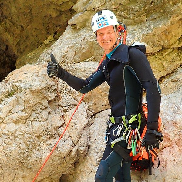 Touren-Guide  Roland Márkusz von Canyoningtours.com