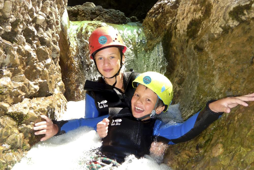 Canyoning Level 1 Stuibenfälle Tirol