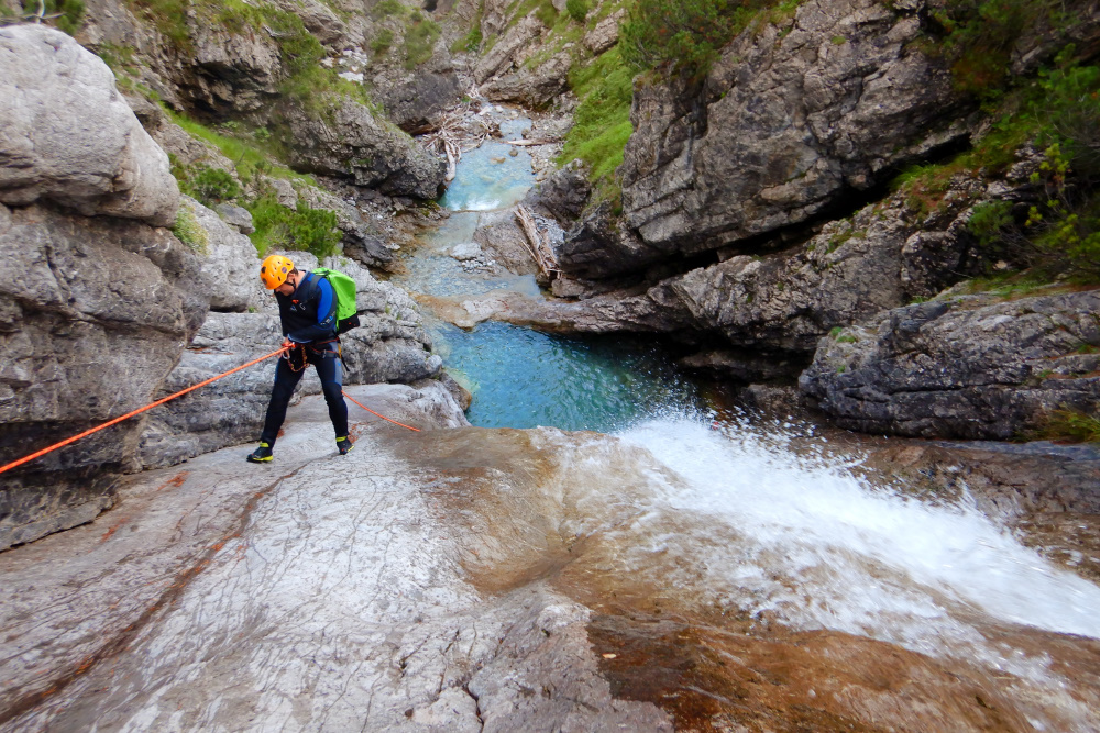 Canyoning Touren Level 3 - Allgäu - Tirol