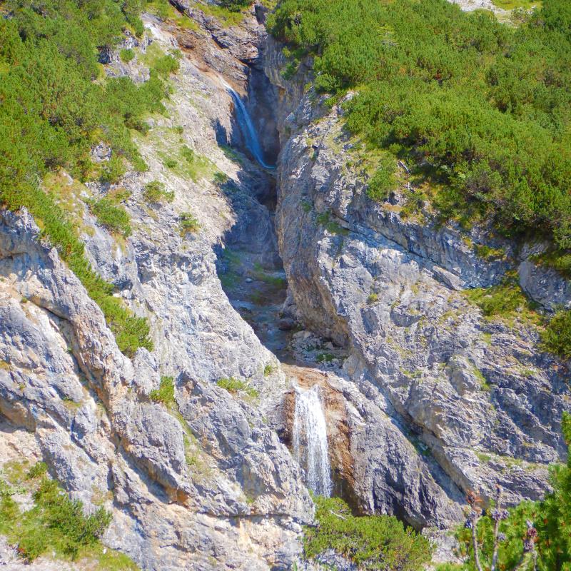Canyoning Roßgumpenbach Lechtal