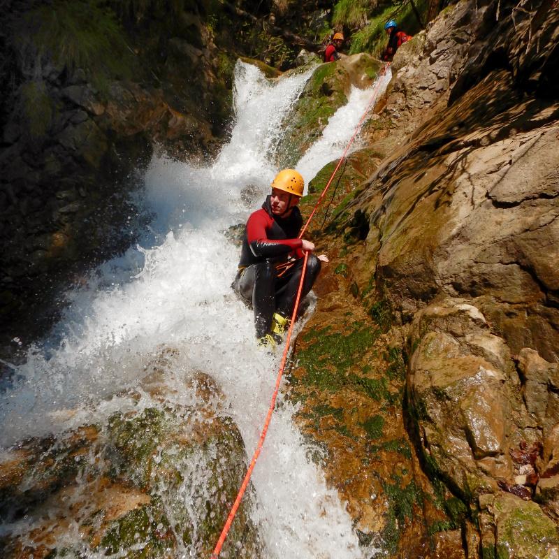 Canyoning Sababach Tirol
