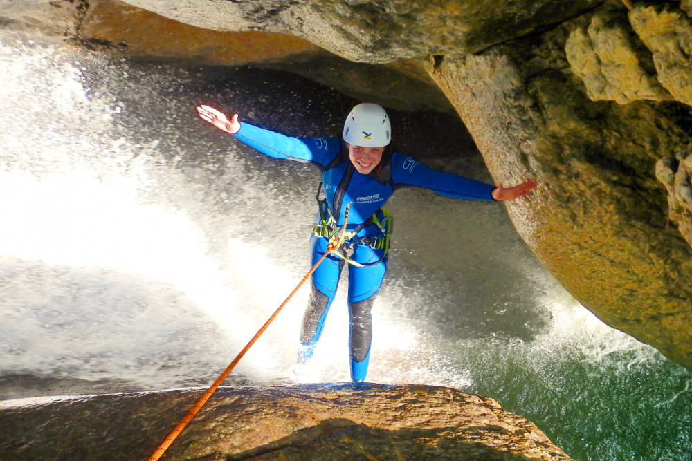 Canyoning Tour Starzlachklamm Level 2