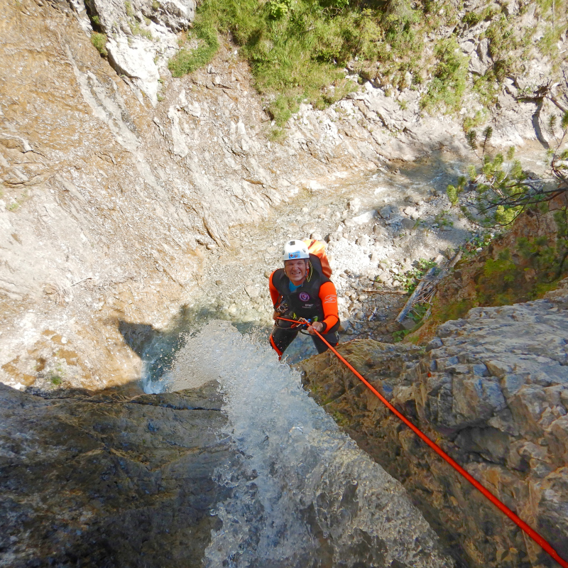 Wiesbach Canyoning Lechtal