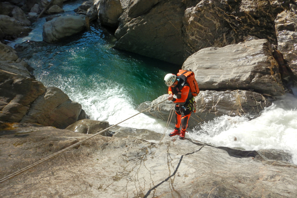 Canyoning Touren Level 2 - Allgäu - Tirol