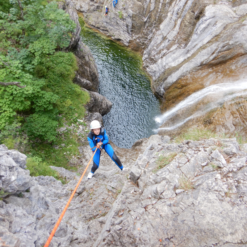 Stuibenfälle Canyoning Tour Tirol