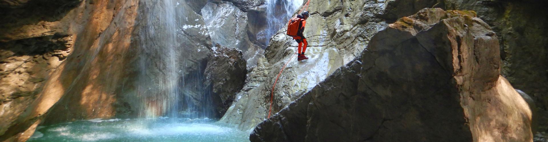 Canyoning Touren im Allgäu und in Tirol